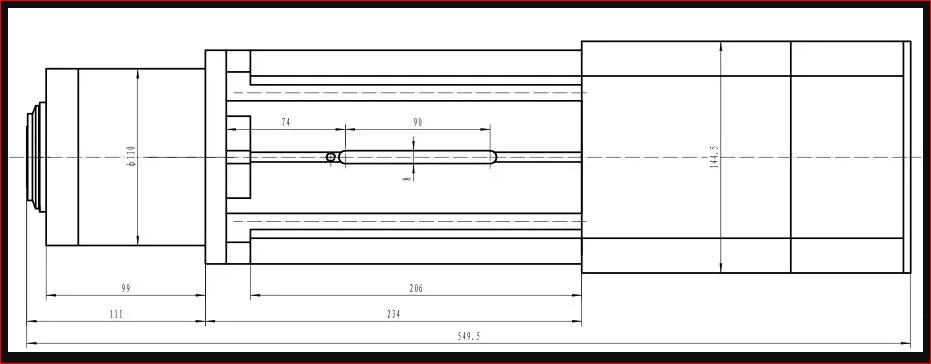 Bán nóng Trục bộ định tuyến CNC Bán nóng 9kw Không khí làm mát Atc ISO30 / Bt30 Trục chính CNC